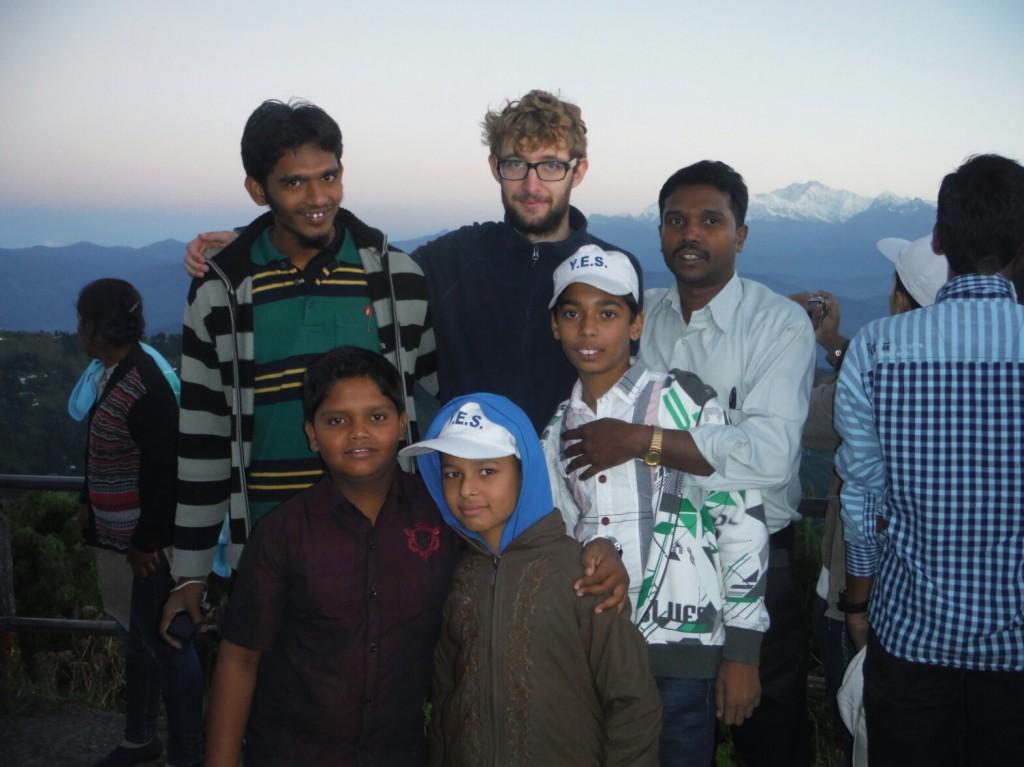 Z indyjską rodzinką