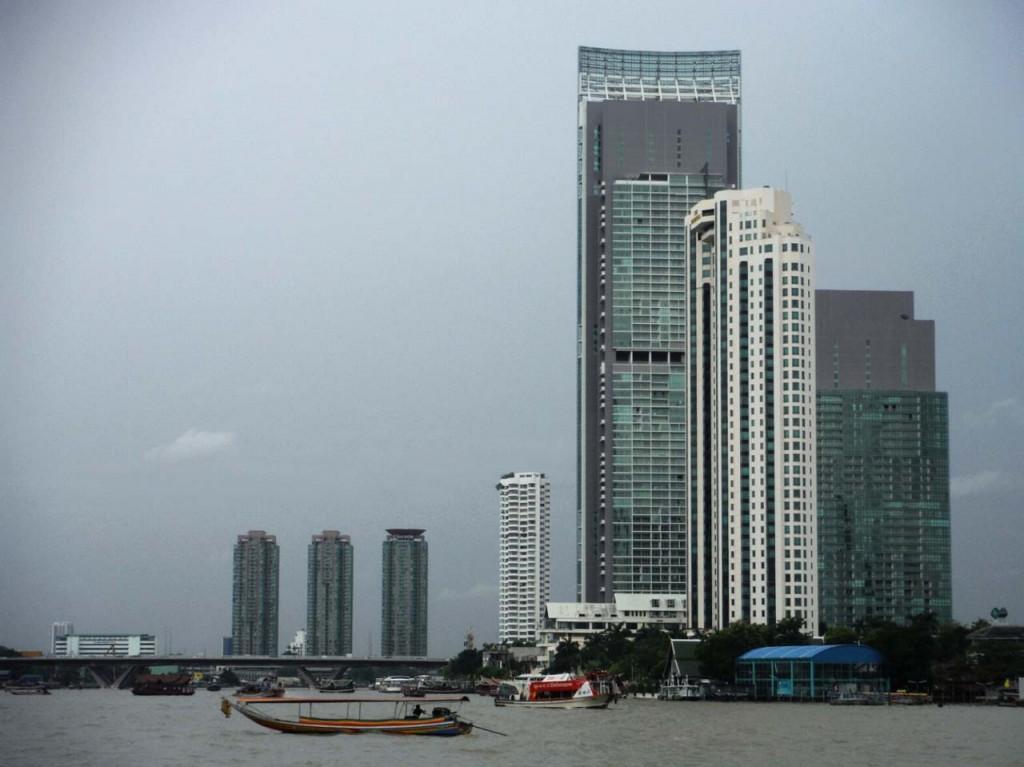Bangkok widziany z rzeki