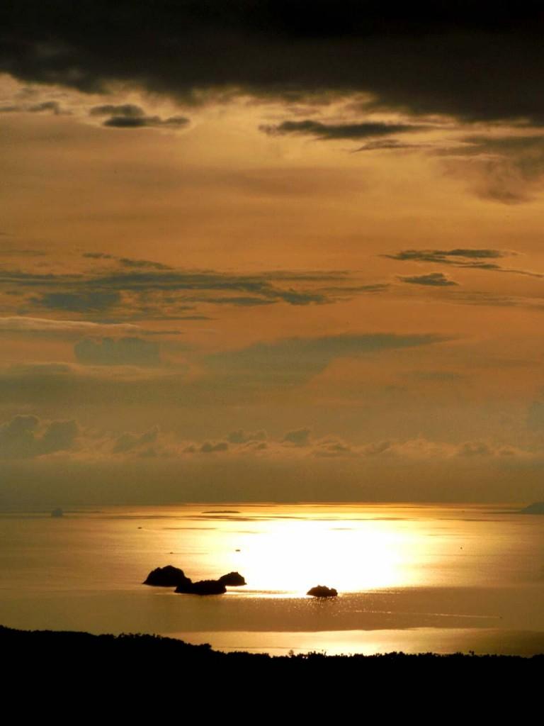 Zachód słońca na Ko Samui