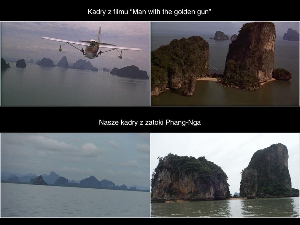 Sceny z Jamesa Bonda kręcone w Phang-Nga