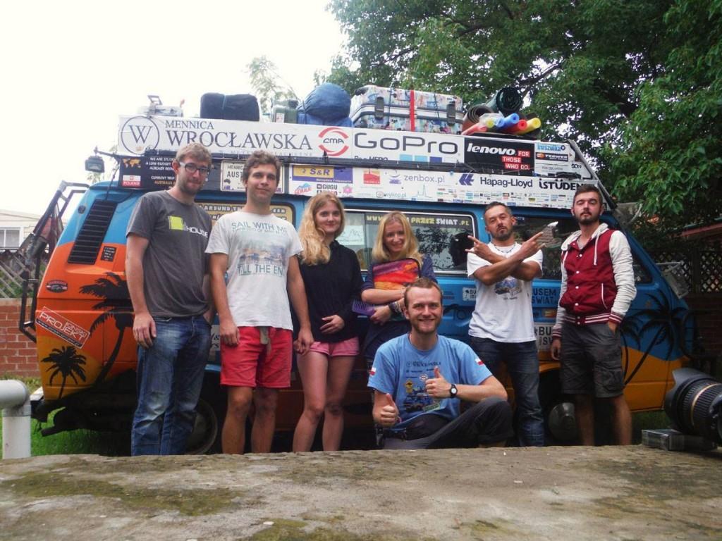 Z ekipą Busem Przez Świat
