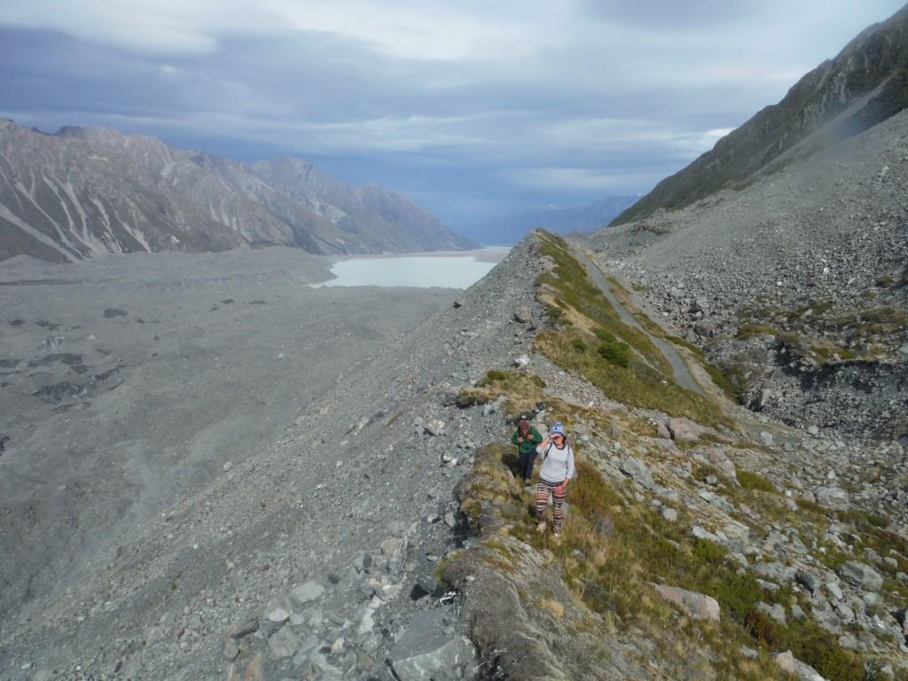 W oddali jezioro proglacjalne