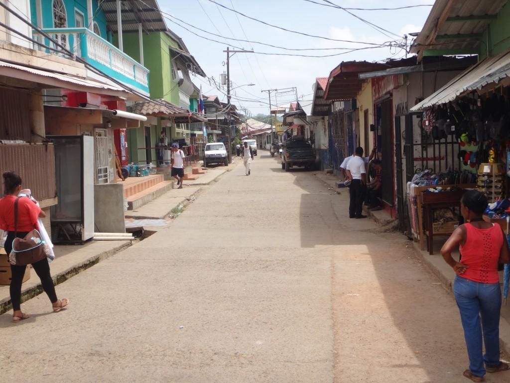 Główna ulica w La Palma