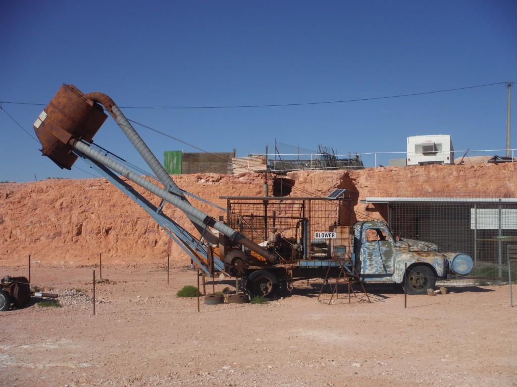 Pozostałości po kopalni