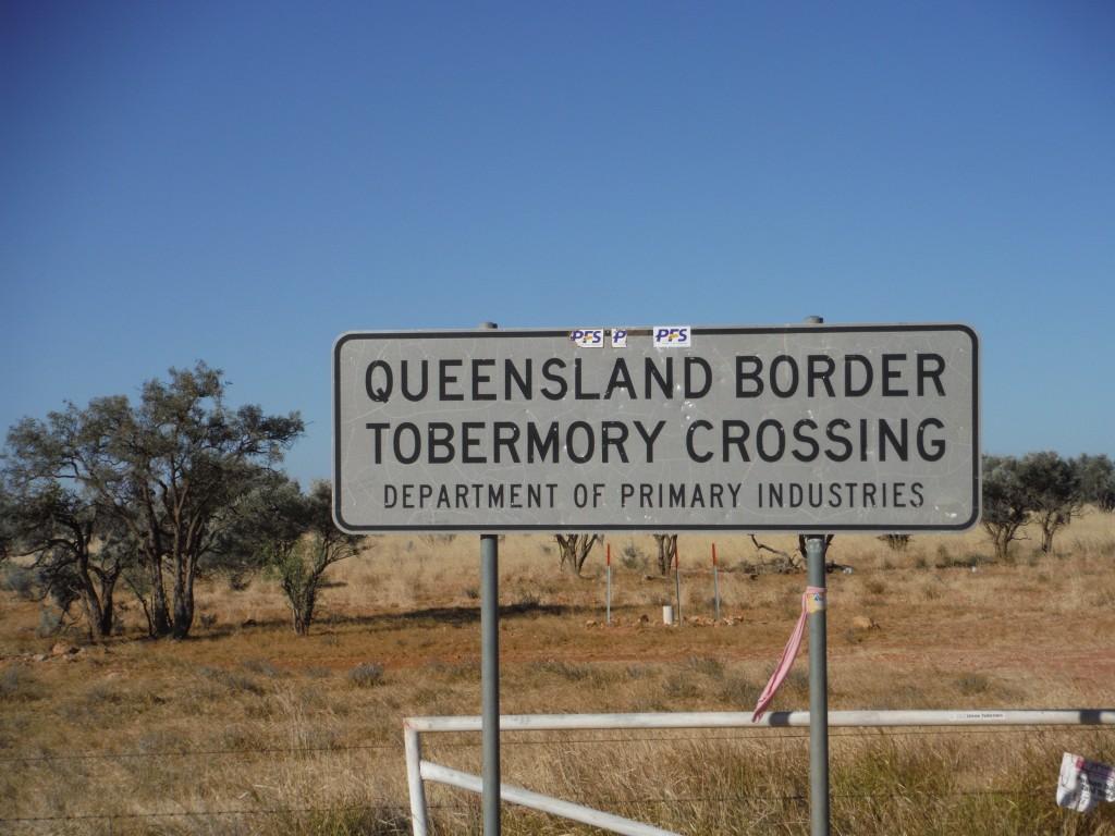 Granica stanu Queensland