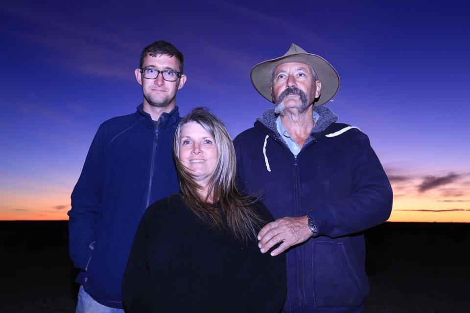 Barry, Jenni i ja