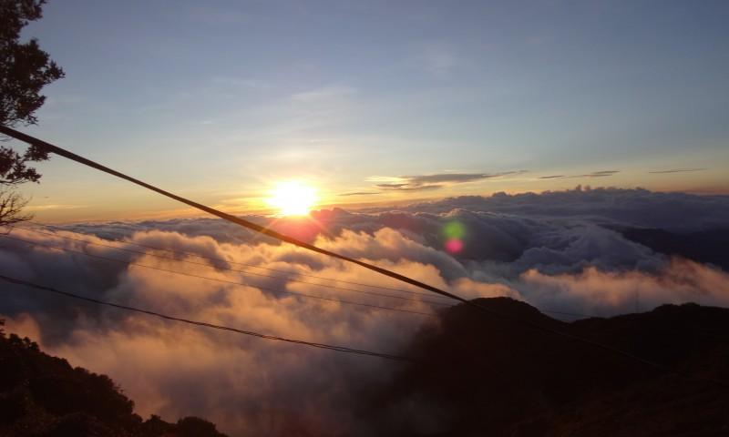 Widok z wulkanu