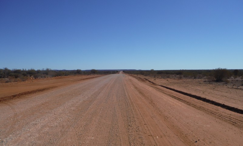 Autostopem przez pustynię