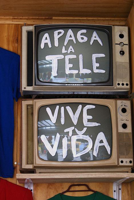 Zgaś telewizor - żyj swoim życiem