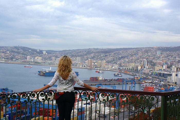 Port w Valparaiso