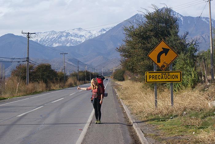 Autostopem w stronę Andów