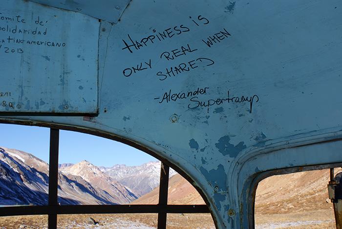 Szczęście jest prawdziwe tylko wtedy, gdy można się nim dzielić