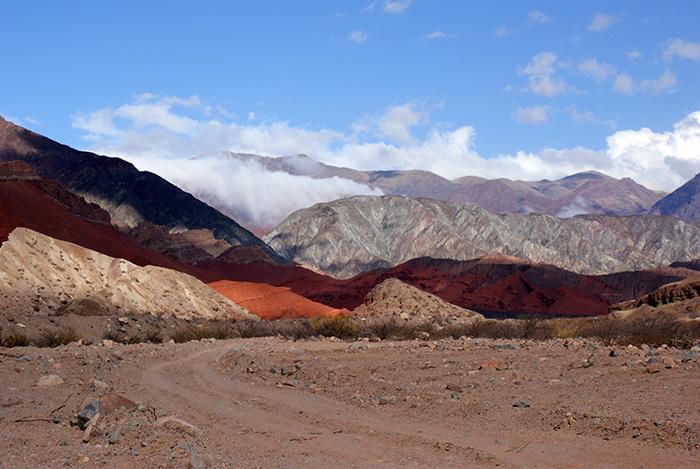 Widoki w Quebrada de las Conchas