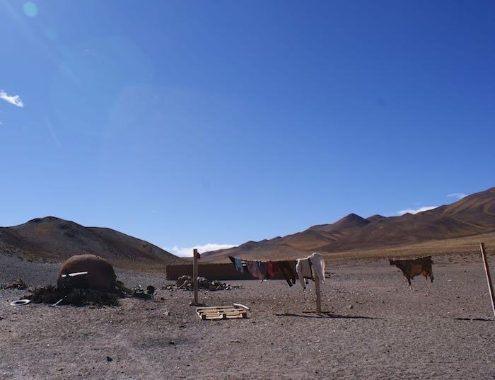 Piec w wiosce (z lewej)