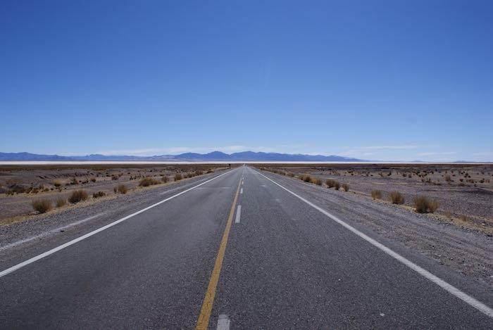 Droga przez Andy
