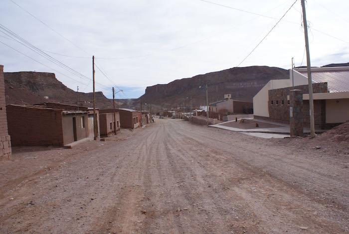 Główna ulica Susques