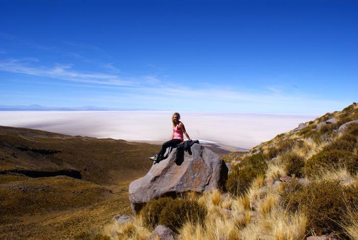 Wspinaczka na wulkan Tunupa