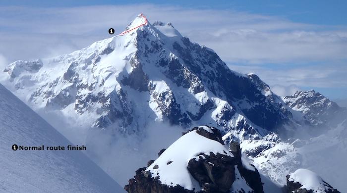 Ostatni etap do szczytu