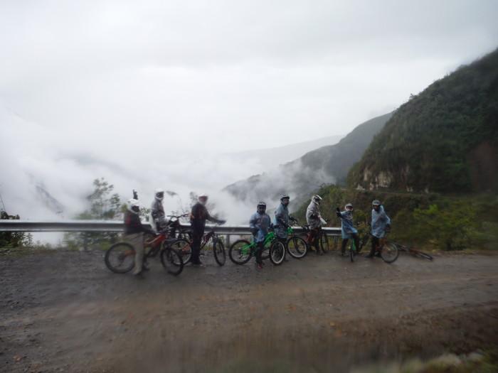 Reszta rowerowej ekipy