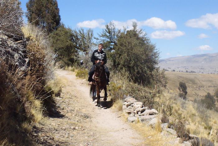 Widoki z wycieczki konnej