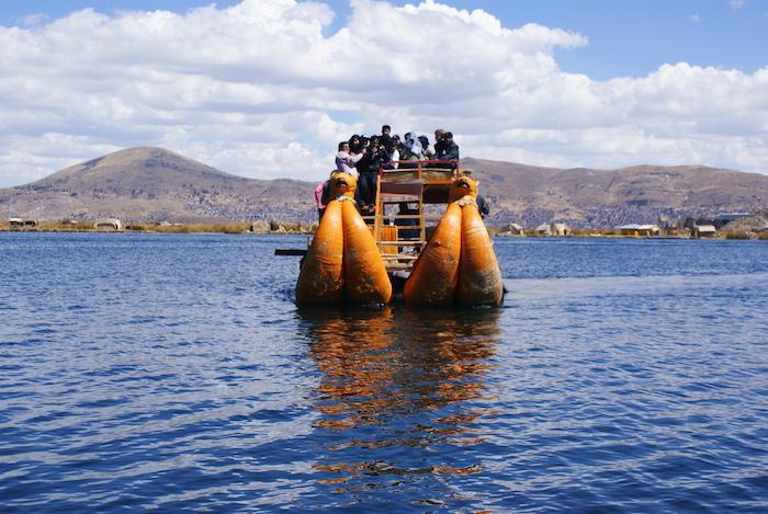 Trzcinowa łódź