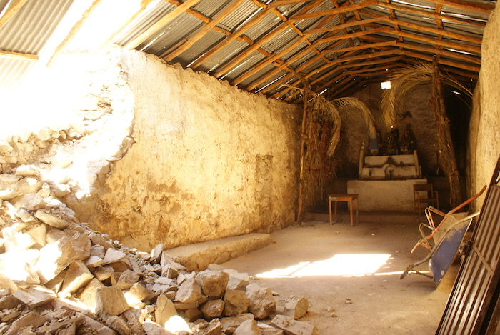 Ruiny kościoła w Llatica