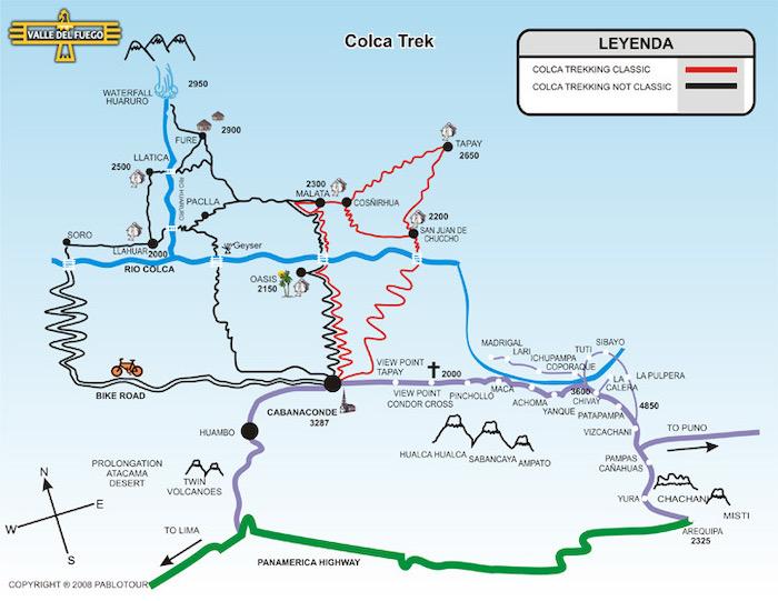 Mapa trekkingu